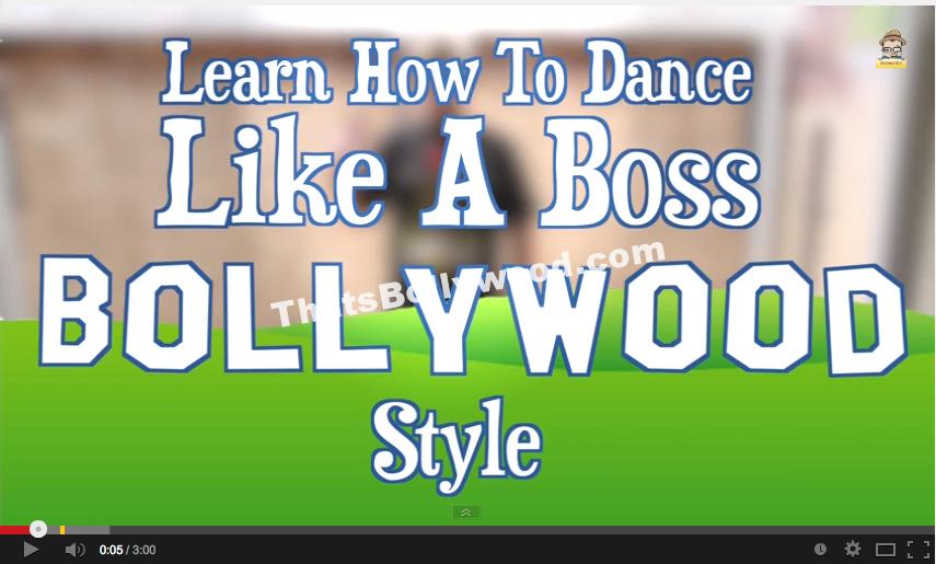 Dance like a Boss - Bollywood Style