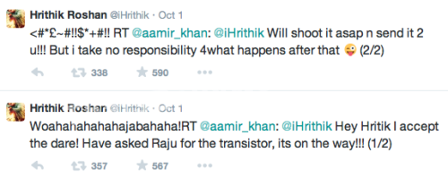 Aamir Khan accepts Hrithik Roshan dares to go naked: