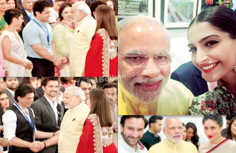 Bollywood Celebs meet PM Modi