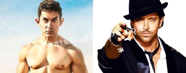 Hrithik Roshan and Aamir Khan Bang Bang dare - That's Bollywood