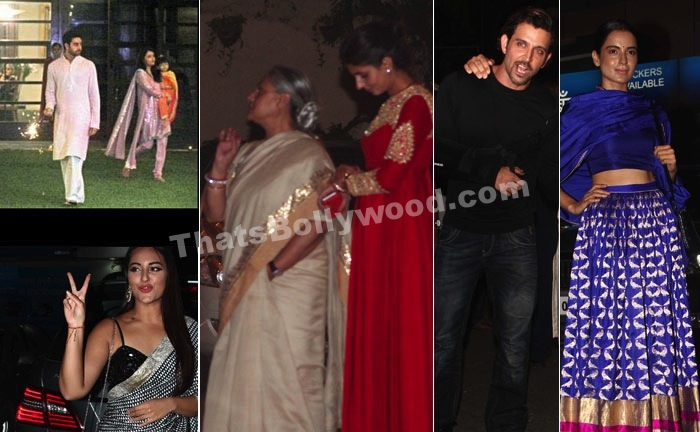 Bachchans Diwali Bash 2014