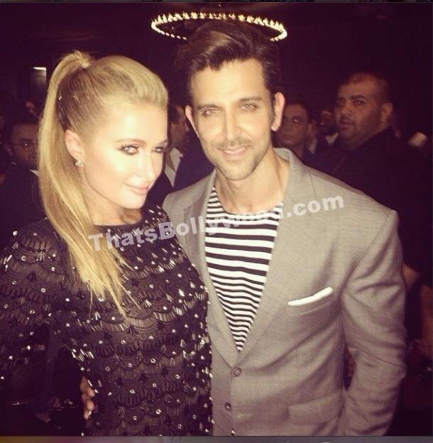 Hrithik Roshan hangs with Paris Hilton