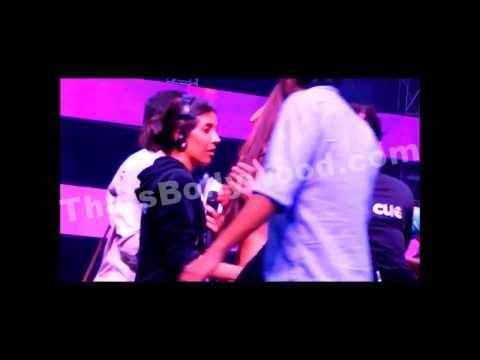 Actor Gauhar Khan slapped