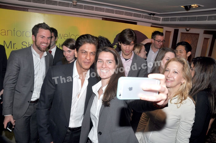 Shah Rukh Khan meets Stanford University students in Mumbai