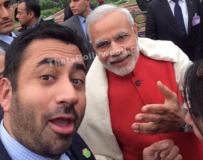 Kal Penn Selfie with Narendra Modi