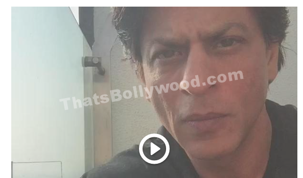 Shah Rukh Khan Trying out Video tweets