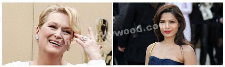 Freida Pinto and Meryl Streep join India's Daughter!
