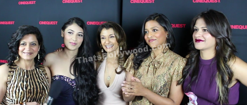 Interview with the cast of Miss India America Movie at the Cinequest premiere in San Jose.