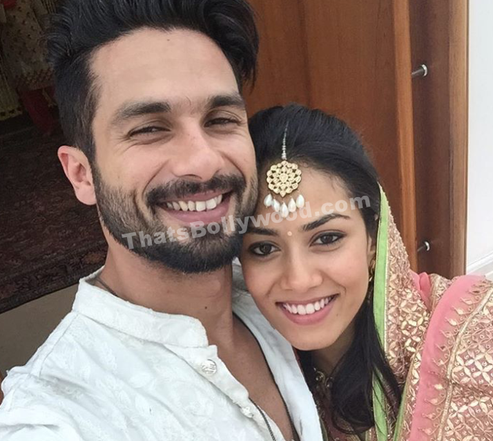 Congrats Mr and Mrs Shahid Kapoor