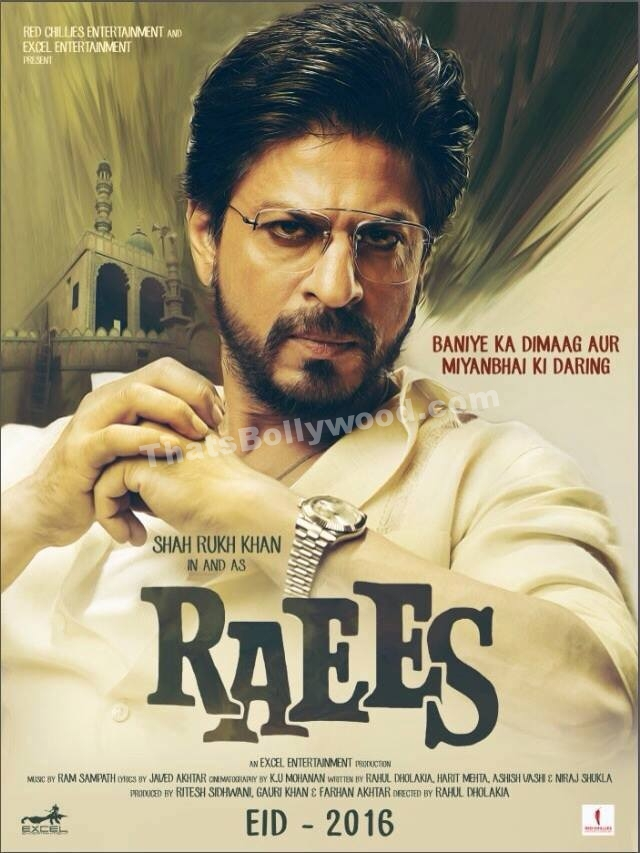 Raees Teaser Trailer and poster