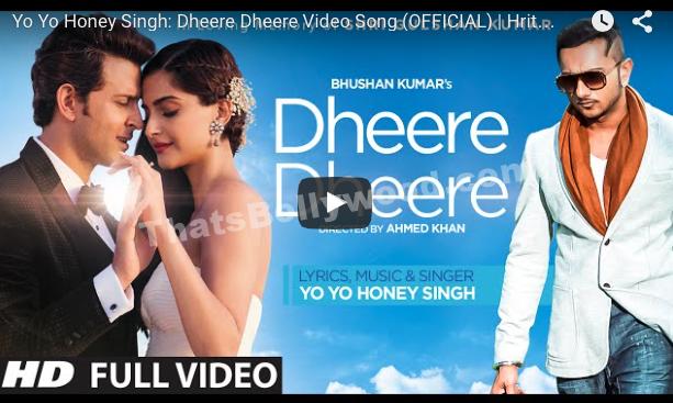 Yo Yo Honey Singh: Dheere Dheere Video Song