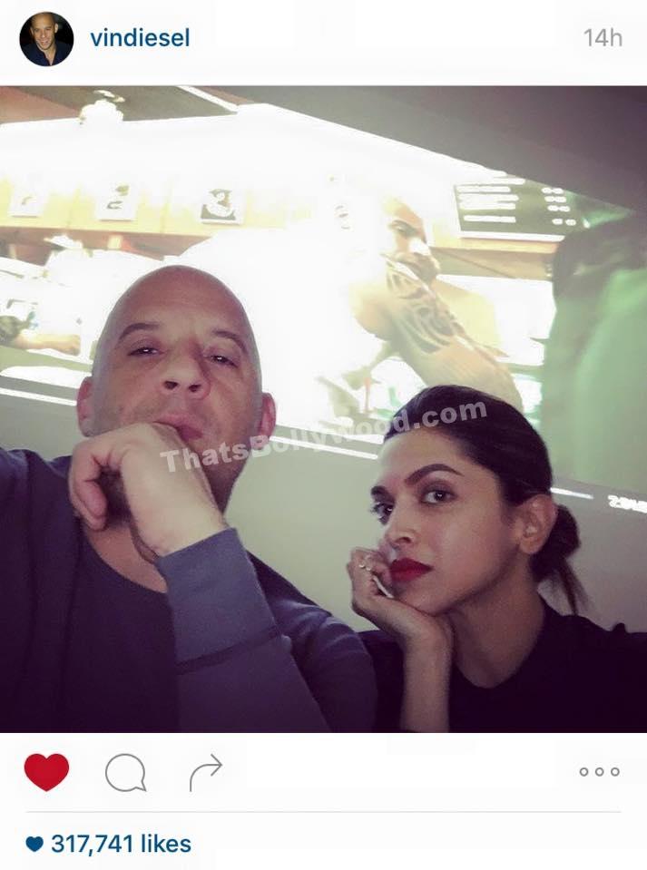 Vin Diesel and Deepika Padukone - XXX3