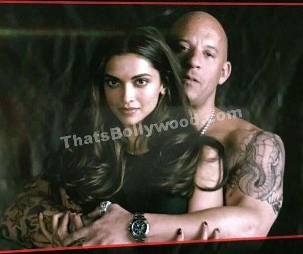 Deepika Padukone And Vin Diesel - First Look Of xXx The Return Of Xander Cage