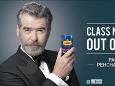 Pierce Brosnan in Pan Bahar ad
