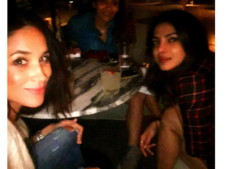 Prince Harry's Girlfriend Meghan Markle Hangs Out With Priyanka Chopra