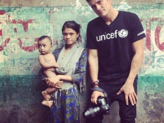 Orlando Bloom visits Bangladesh