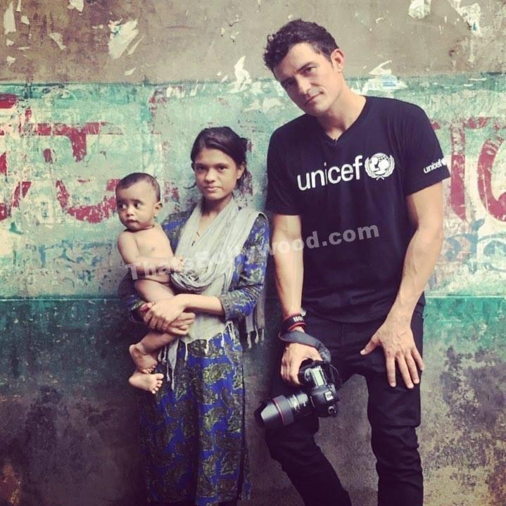 Orlando Bloom visits Bangladesh